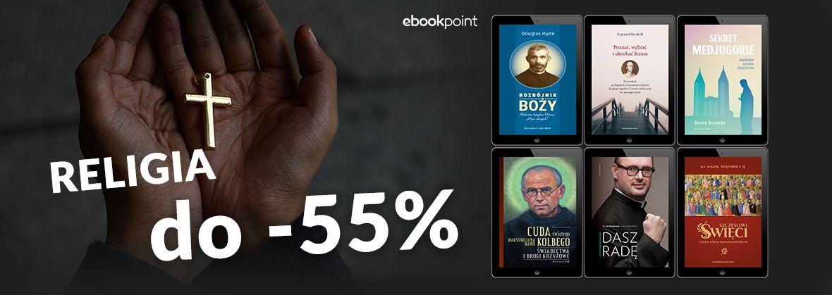Promocja na ebooki Religia do -55% [Wydawnictwo WAM]